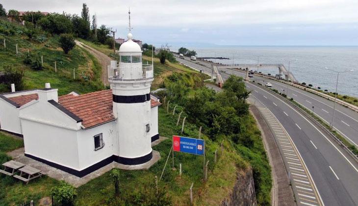 135 yıldır gemilere yol gösteren deniz feneri, turistik tesise dönüşüyor