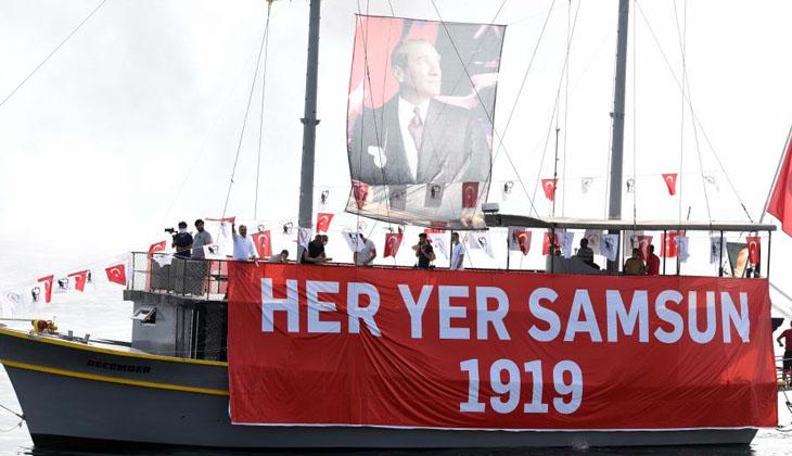 19 Mayıs'ta saat 19.19'da İstiklal Marşı denizden yükselecek