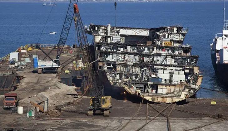 AB, eski gemileri offshore bayrakla söküme yolluyor!