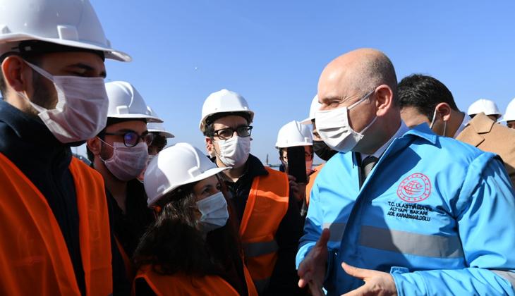 """Adil Karaismailoğlu: """"Filyos Limanı'nda aynı anda farklı boyutlarda 13 geminin elleçlenmesi yapılabilecek"""""""