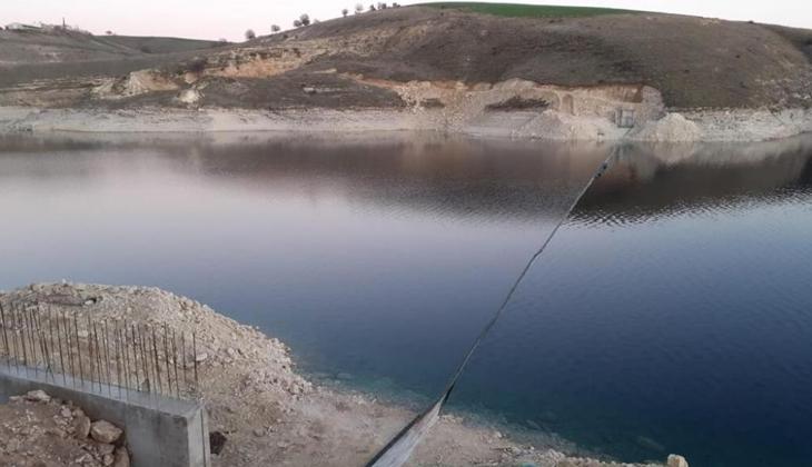 Adıyaman'da 1 milyon TL yatırımla balık çiftliği kuruldu