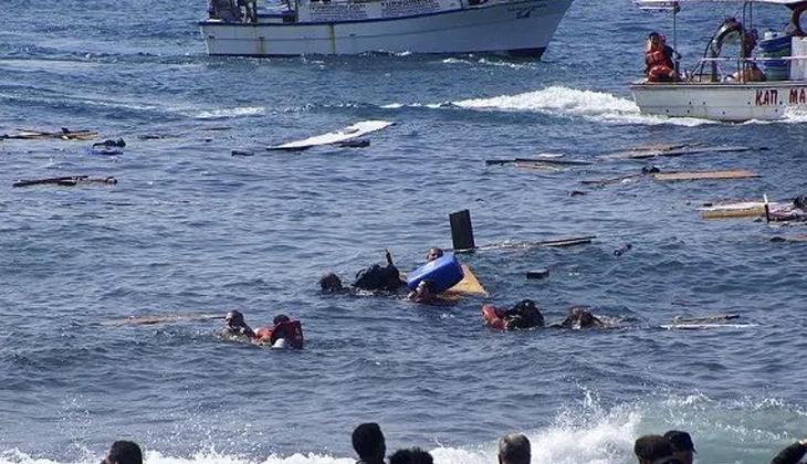 Akdeniz'de 2 göçmen teknesi battı: 14 ölü