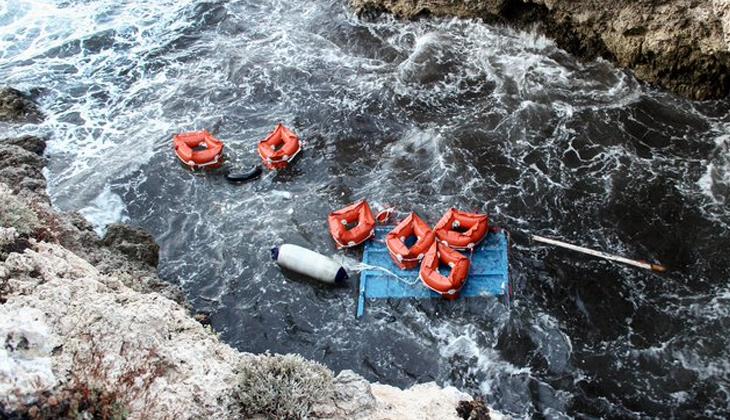 Akdeniz'de göçmen teknesi alabora oldu: En az 7 ölü, 9 kişi kayıp