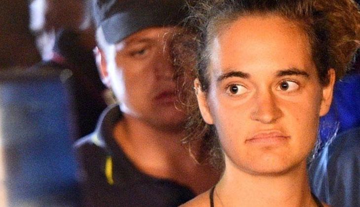 Alman kaptan Carola Rachete hakkındaki suçlamalar düşürüldü