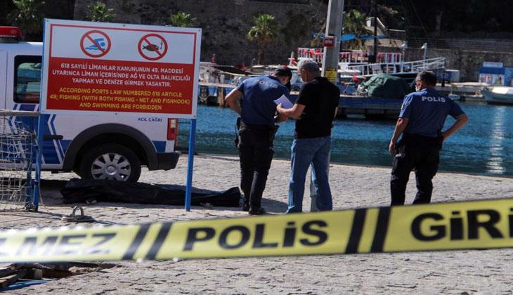 Antalya'da denizin yaklaşık 50 metre açığında bir kadın cesedi bulundu