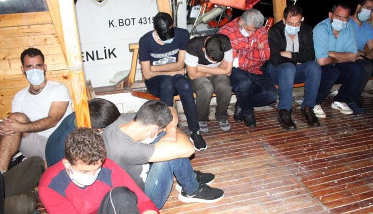 Antalya'dan Kıbrıs'a geçmeye çalışan 18 göçmen yakalandı