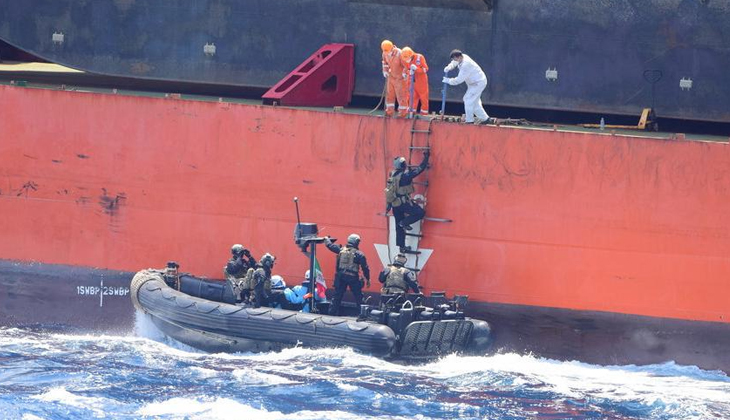 Avrupalı armatörler; Gine Körfezi'ndeki korsan saldırılarından dolayı endişeli