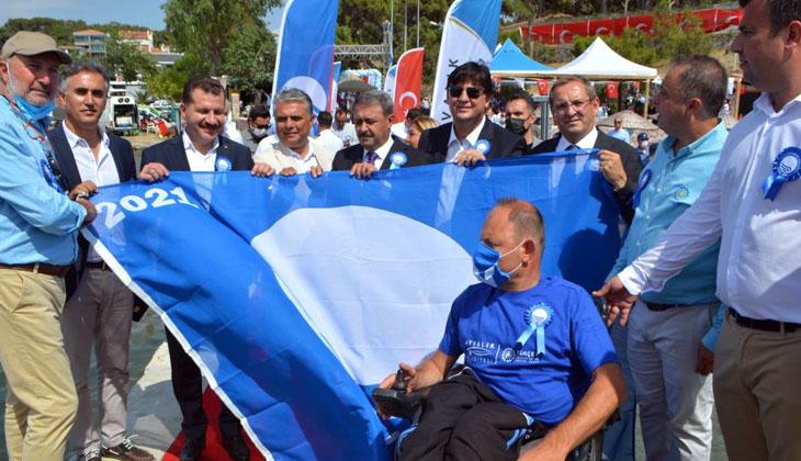 Ayvalık'ta ulusal mavi bayrak ödülleri sahiplerini buldu