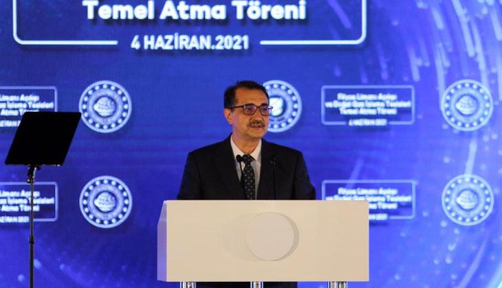 """Bakan Dönmez: """"Hedefimiz 2023 yılında Karadeniz gazının ilk fazını milletimizin hizmetine sunmak"""""""