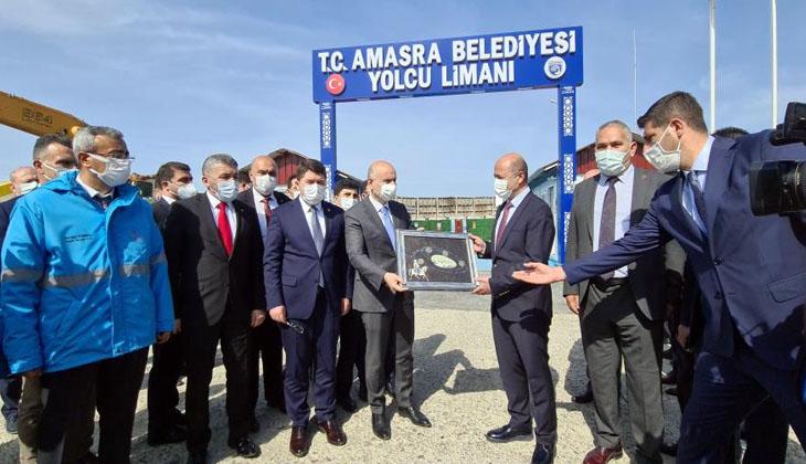 Bakan Karaismailoğlu, Amasra Yolcu Limanı'nı inceledi