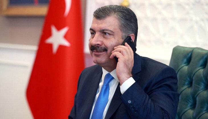 """Bakan Koca: """"Marmara denizi aslına döndü, sizleri kutluyoruz"""""""