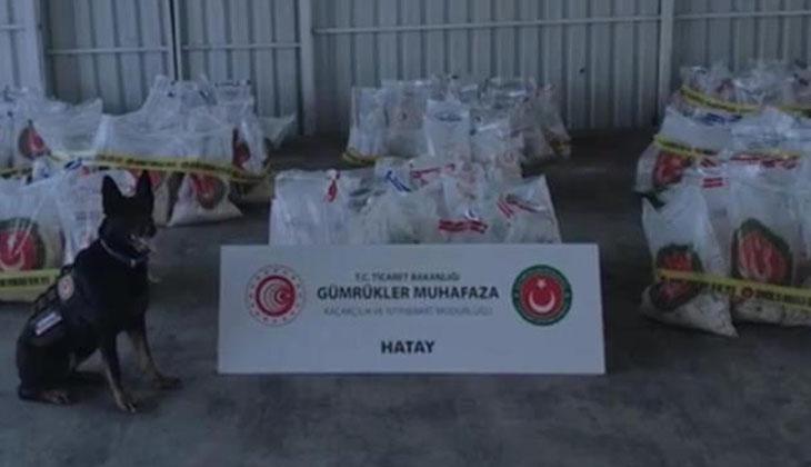 """Bakan Mehmet Kuş: """"Hatay'da 313 milyon lira değerinde uyuşturucu ele geçirildi"""""""