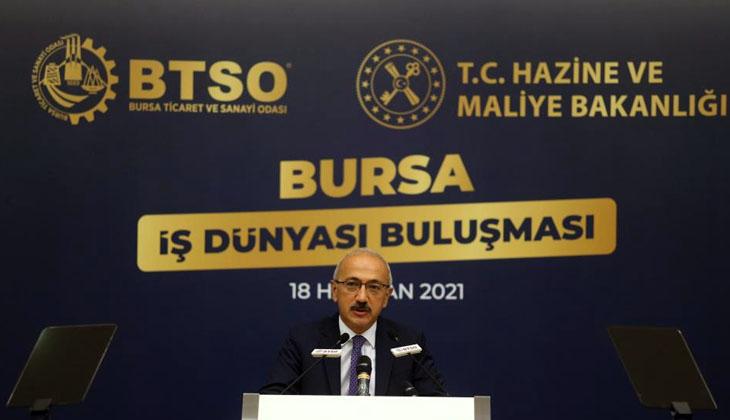 """Bakan Lütfi Elvan: """"Enflasyonla mücadele tüm politikalarımızın merkezinde yer alıyor"""""""