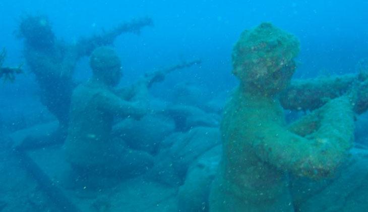 Balıkesir'e sualtı galerisi kazandırmak için çalışmalar başladı