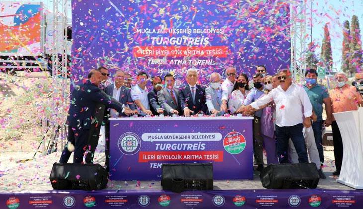Başkan Gürün, Bodrum'un en büyük Arıtma Tesisi'nin temelini attı