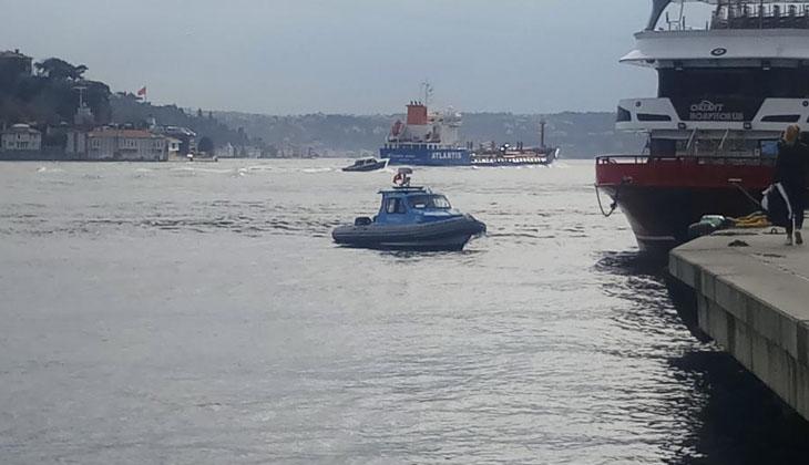 Beşiktaş'ta bir şahıs denize atlayarak intihar etti