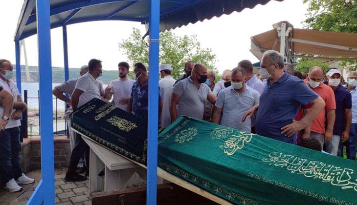 Beykoz'da dün yaşanan gemi kazasında ölen balıkçılar, son yolculuğuna uğurlandı