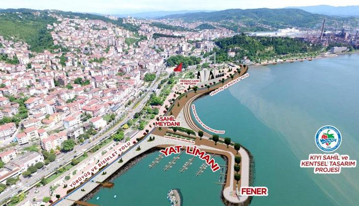 Bu proje ile kent, Karadeniz'in gözdesi hâline gelecek