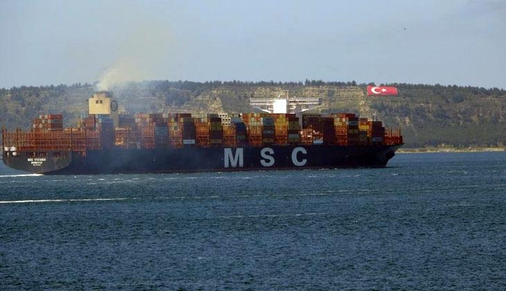 Çanakkale Boğazı 9 saat boyunca gemi trafiğine kapatıldı