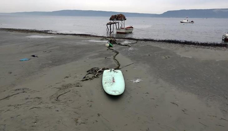 Çanakkale'de deniz 30 metre çekildi