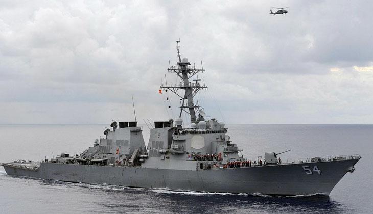 Çin, ABD savaş gemisini takibe aldıklarını bildirdi