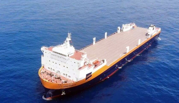 Çin tarafından geliştirilen ve üretilen feribot, ABD'li sahibine teslim edildi
