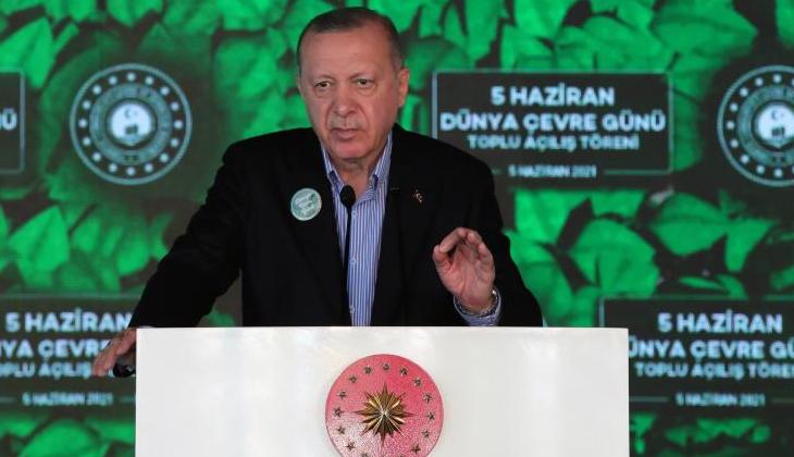 """Cumhurbaşkanı Erdoğan: """"Müsilaj belasından denizlerimizi kurtaracağız"""""""