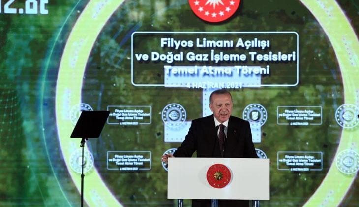 Cumhurbaşkanı Erdoğan'dan 135 milyar metreküplük doğalgaz müjdesi!