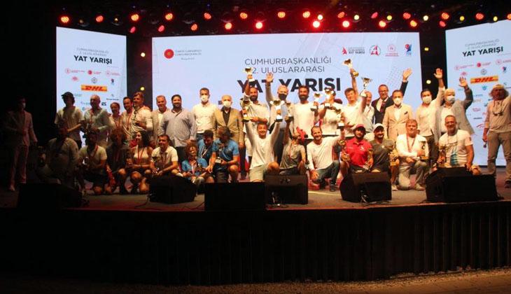 Cumhurbaşkanlığı 2. Uluslararası Yat Yarışları'nın Muğla etabı tamamlandı