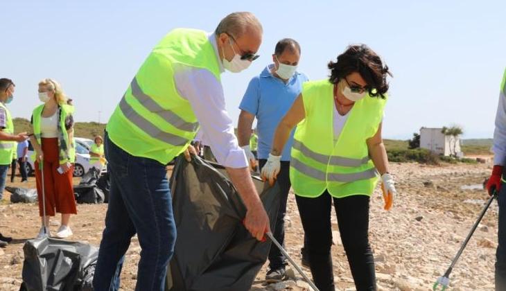 Deniz Çöpleri İzleme Projesi'nin İlkbahar etabı gerçekleşti