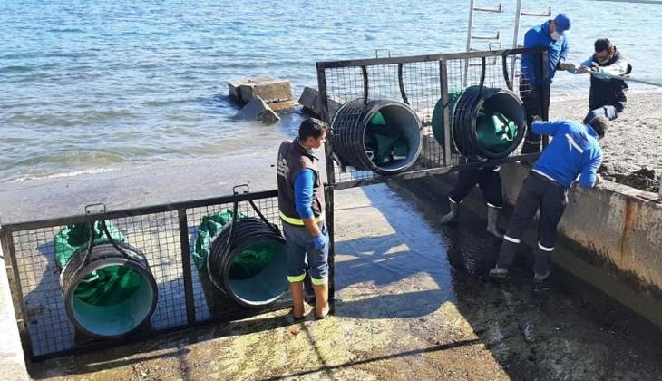 Deniz kirliliği dere ağızlarına yerleştirilen ağlarla engellenecek