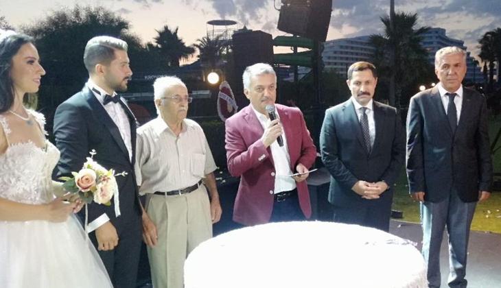 Deniz Ticaret Odası Antalya Şube Başkanı Ahmet Çetin'in mutlu günü