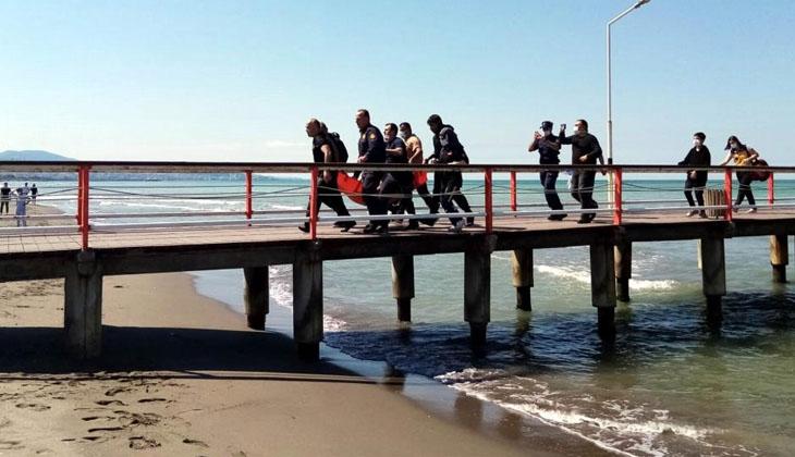 Denizde kaybolan çocuk dalgıçlar tarafından bulunup hastaneye kaldırıldı