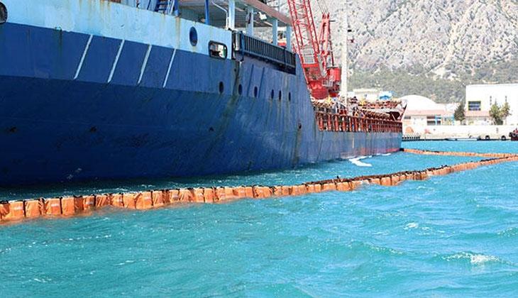 Denizi kirleten gemiye 1 milyon 566 bin lira ceza uygulandı