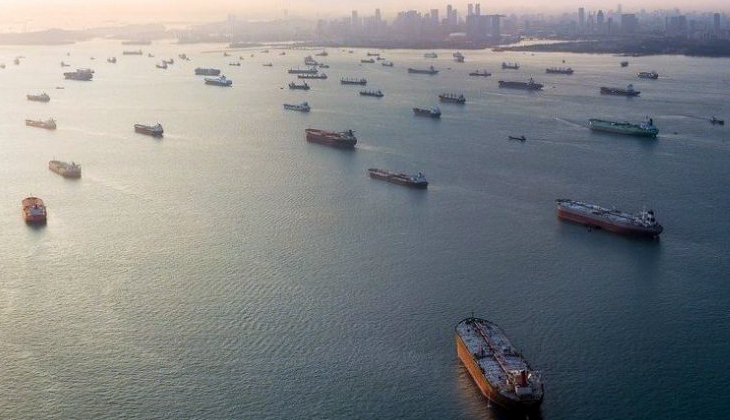 Dünya deniz ticaret filosu 100 bin gemi barajını aştı