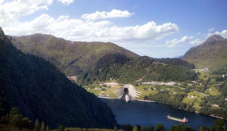 Dünya'nın ilk gemi tünelinin inşası başlıyor