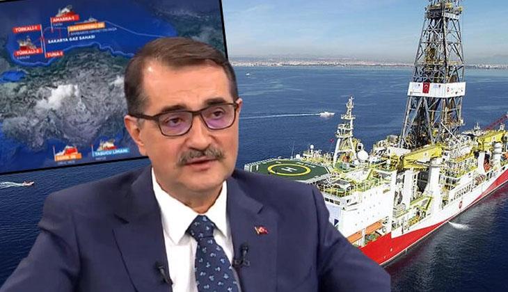 """Enerji ve Tabii Kaynaklar Bakanı Fatih Dönmez: """"Dördüncü bir sondaj gemisi de olabilir"""""""