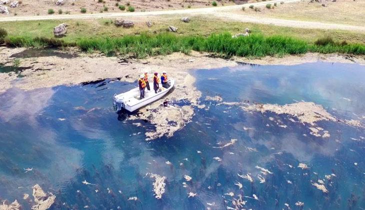 Eskişehir'de İl Tarım ve Orman Müdürlüğü ekiplerince su ürünleri denetimi gerçekleştirildi