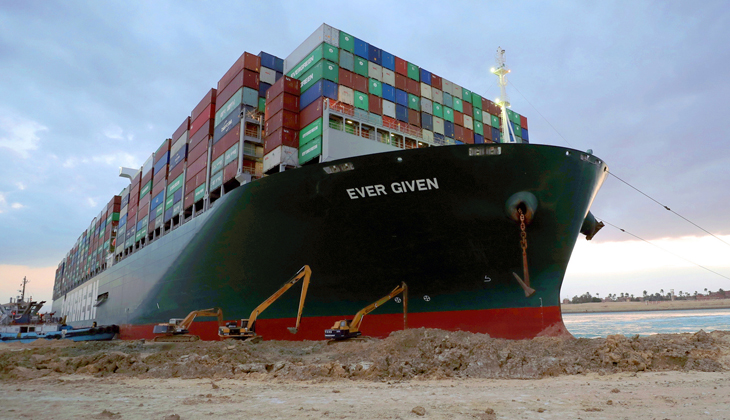 Ever Given gemisinin serbest bırakılması için yeni teklif; 600 Milyon Dolar!