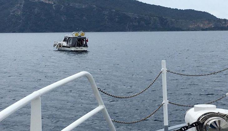 Fethiye'de sürüklenen tekneyi kıyı emniyeti kurtardı