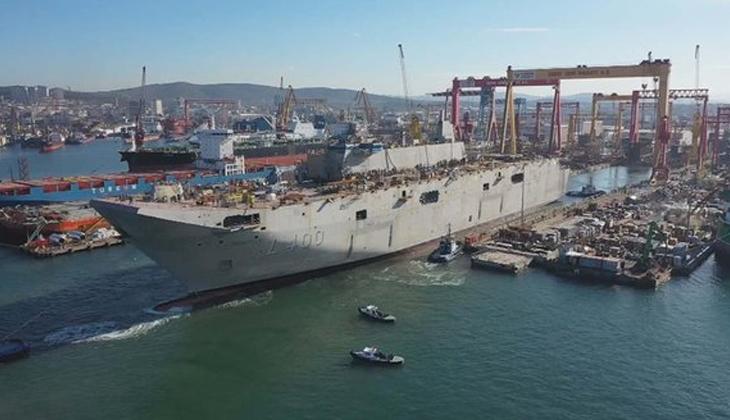 Forbes, Türk uçak gemisi TCG Anadolu'ya övgü yağdırdı