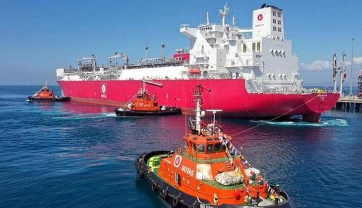FSRU Gemisi Ertuğrul Gazi Dörtyol Botaş'ta