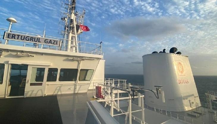 FSRU gemisi 'ERTUGRUL GAZİ', Türk bayrağını çekti