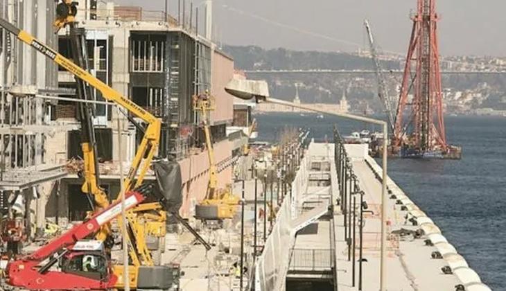 Galataport ilk gemiye 24 Nisan'da hazır