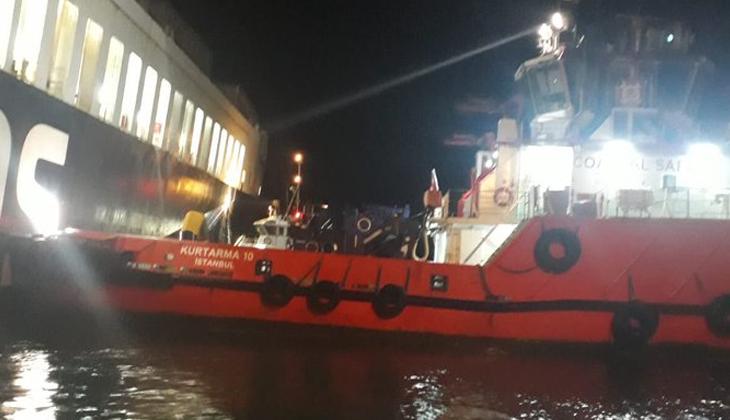 Gallipoli Seaways Ro-Ro gemisindeki yangın tamamen söndürüldü