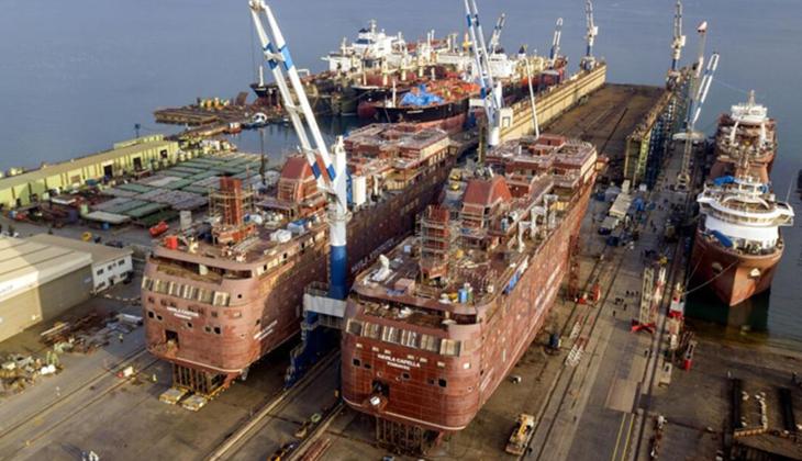 Gemi inşa sektöründe daralma aşıldı