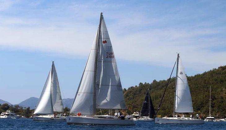 Göcek'te yelken yarışları başladı