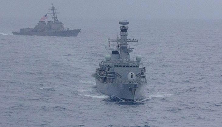 Güney Çin Denizi'nde Çin-ABD gerilimi artıyor