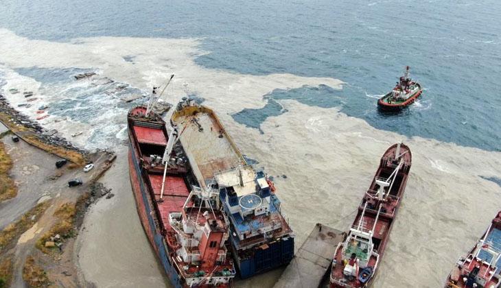 HASAN ŞİŞİK isimli Ro-Ro gemisi, halatının kopması sonucu sürüklendi!