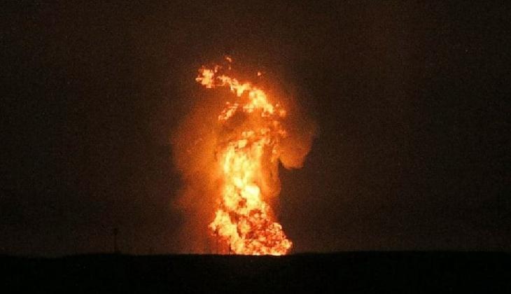 Hazar Denizi'nde şiddetli bir patlama meydana geldi